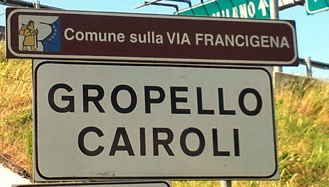 La Via Francigena…