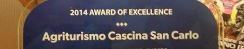 Premio di eccellenza 2014 Booking.com